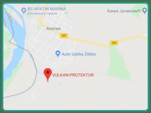 Lokacija VULKAN-PROTEKTOR