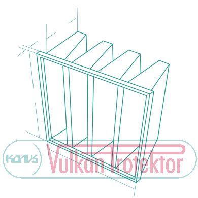 Filter vreće FVT 390
